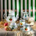 LE Pcn Чаши Кафе MARY-ANNE 2x150ml 080H Плодове